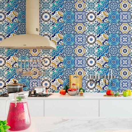 Papel de Parede Azulejo Português