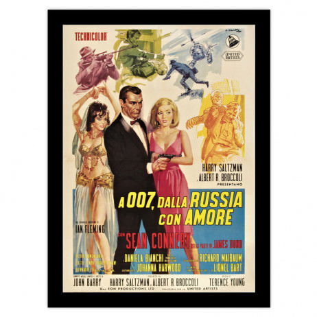 Poster 007 From Russia with Love