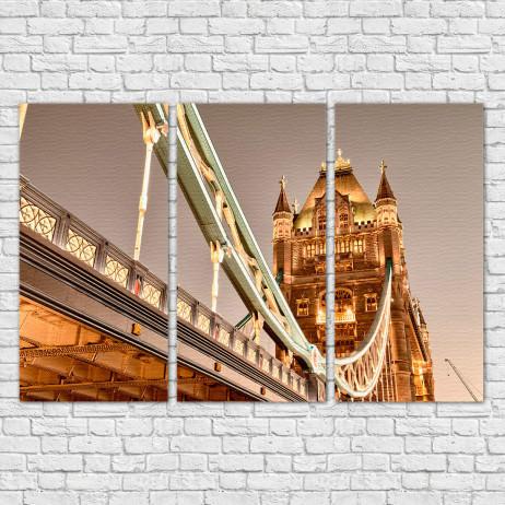 Quadro Decorativo Tower Bridge - Em Canvas