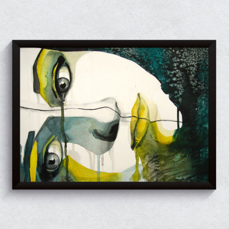 "Quadro Decorativo ""Face"""