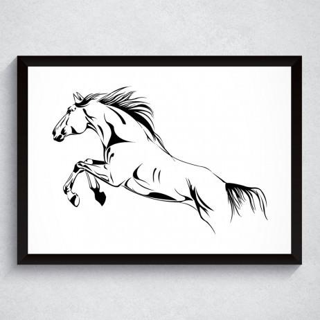 Quadro Decorativo Cavalo