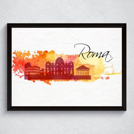 Quadro Decorativo Roma