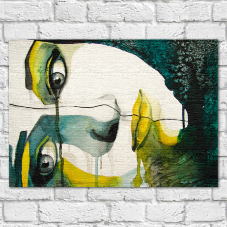"Quadro Decorativo ""A Face"""