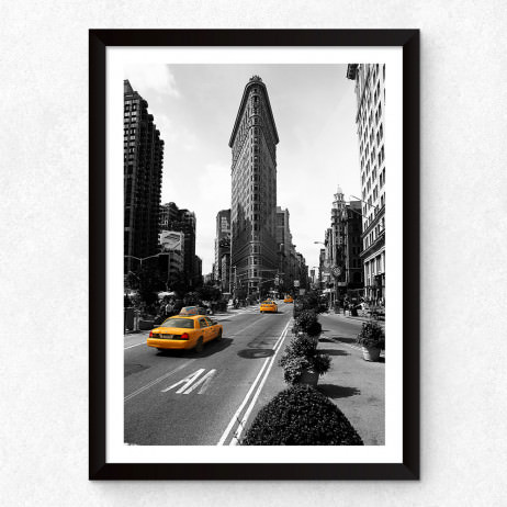 Quadro Decorativo Flatiron Building