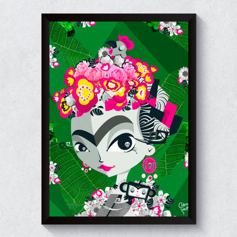 Quadro Decorativo Frida