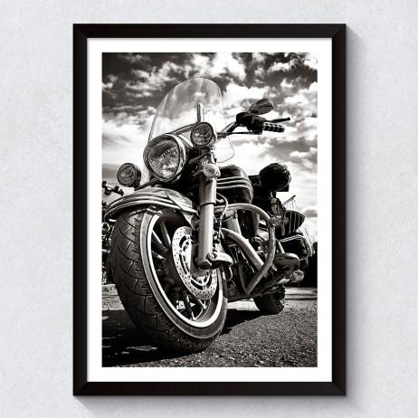 OUTLET - Quadro Decorativo Harley