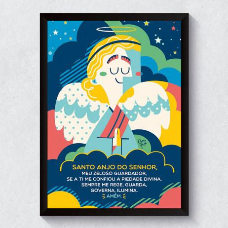 Quadro Decorativo Santo Anjo