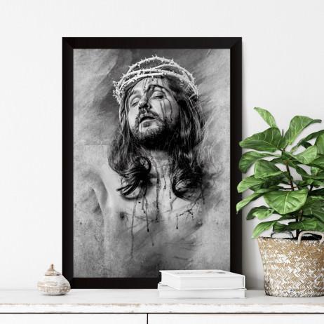 Quadro Decorativo Jesus Cristo Crucificado
