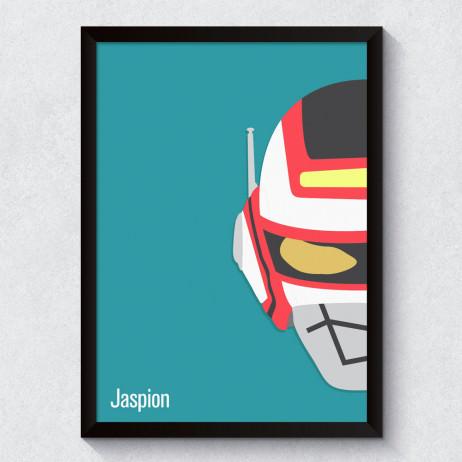 Quadro Decorativo Jaspion