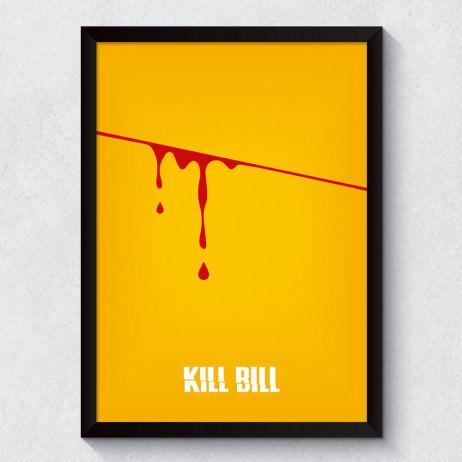 Quadro Decorativo Minimalista Kill Bill