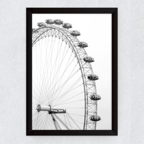 OUTLET-Quadro Decorativo Olho de Londres (Fotografia)