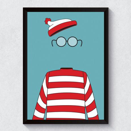 Quadro Decorativo Wally