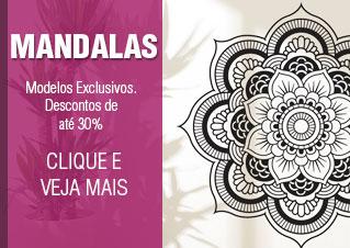 Adesivos de Parede Mandala - Descontos de Até 30%