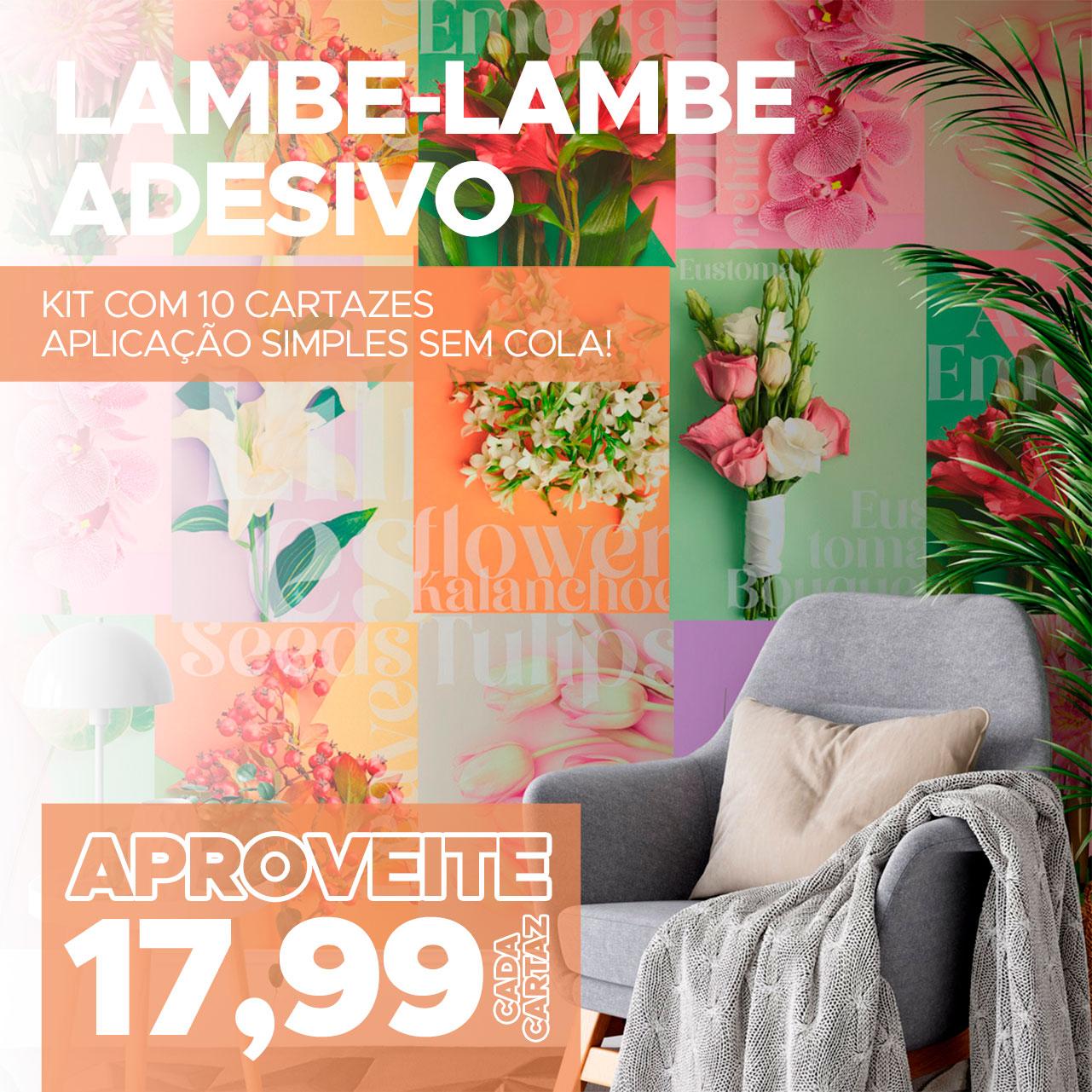 Lambe Lambe Adesivo