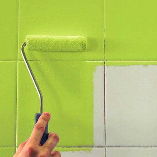 Pintura em Azulejo de Banheiro